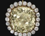 تصویری از الماس زرد احمد شاه قاجار که ۱۰ میلیارد تومان در سوئیس فروخته شد