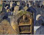قبرستان اسرار آمیز در شمال ایران +عکس