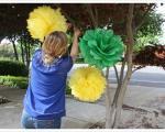 نحوه ساخت گل های کاغذی تزیینی