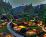 بوچارت، یکی از زیباترین باغ های دنیا