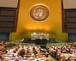 خروج هیئت روسی از محل نشست مجمع عمومی سازمان ملل در پی اظهارات تند ساکاشویلی