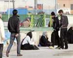 دكان های رمالی در میدان پایتخت