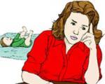 زنانی که پس از زایمان افسردگی میگیرند