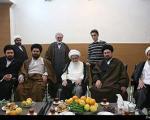 صافی گلپایگانی در دیدار با سیدحسن خمینی: مواضع شما جلوی توطئه علیه بیت امام را گرفت