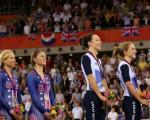 تصاویر / جشن پیروزی زنان دوچرخه سوار در المپیک 2012 لندن