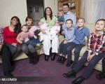 مادر پرمشغله انگلیسی در انتظار دوازدهمین فرزندش!