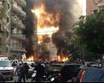وقوع انفجار شدید نزدیک شورای سیاسی حزب الله در بیروت