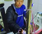ساخت دستگاه دیالیز در خانه +عکس