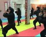 """رویترز : 3 هزار زن """" نینجا """" آماده دفاع از ایران"""