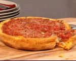 طرز تهیه و دستور پخت پیتزا شیکاگو