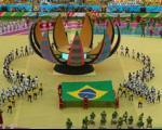اجرای خواننده غیرمجاز ایرانی در افتتاحیه جام جهانی