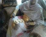 دختر ایرانی سر تا پا جواهر + عکس