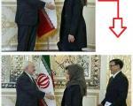 دلواپسان دست از سر ظریف بر نمی دارند؛ پخش تصاویر جعلی جدید از وزیر خارجه در فضای مجازی + تصاویر