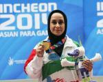 یک ایرانی  بهترین ورزشکار زن سال آسیا(+عکس)
