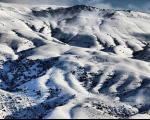 عکسهای زیبا از ارتفاعات گلستان در زمستان