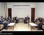 نکته تأمل برانگیز در تصاویر دیدار اسد و جلیلی (+عکس)