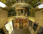 با این قطار مثل یک پادشاه سفر کنید! +عکس