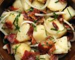 طرز تهیه سالاد سیب زمینی خوش طعم