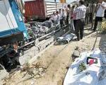 مرگ ۳۵ نفر در هر ۱۰۰ هزار نفر بر اثر تصادف