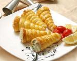 طرز تهیه ی قیف ژامبون با سیب زمینی