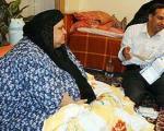 چاق ترین زن ایران +عکس