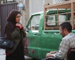 مسافرکشی بازیگر سینما با وانت فرسوده+عکس