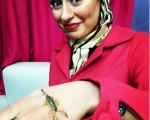 حرکت شجاعانه بازیگر زن(+عکس)