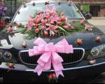 مدل تزئین ماشین عروس 2012