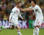 پیروزی انگلیس مقابل اوكراین با كمك رونی و داور