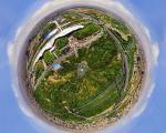 اولین عکس 360 درجه کروی از تهران