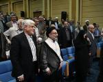 همه حواشیِ افطاریِ جنجالی رییس جمهور/ سخنان کرباسچی، صلوات و خروج اعتراض آمیز مصباحی مقدم(+گزارش  تصویری)