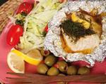 ماهی تنوری با کره سبزیجات، یک دنیا سلامت