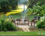 چگونه یك آتش دان در حیاط خانه خود بسازیم؟