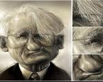 کاریکاتوریست ایرانی با اثر بزرگترین فیلسوف جهان جایزه ویژه گرفت