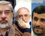 حلالیت طلبی احمدی نژاد از میرحسین موسوی و کروبی!