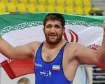 اولین طلای ایران در مسابقات کشتی قهرمانی آسیا
