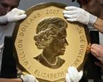 بزرگ ترین سکه طلای جهان
