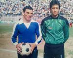 دو دروازه بان اسطوره ای فوتبال ایران در یک بازی خداحافظی