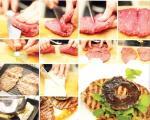 دستور آشپزی: استیك پروانهای با قارچ