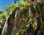 «آب ملخ»، ترسناک ترین آبشار ایران