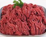 گوشت چرخ کرده را در فریزر نگذارید!