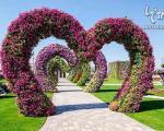 بزرگترین باغ گل جهان در دبی +عکس