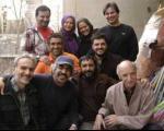 پژمان جمشیدی، خطیبی و رامبد جوان در میهمانی امیرحسین رستمی! + عکس