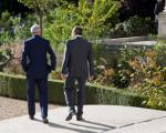 عکس: مذاکره خصوصی کری و لاوروف در باغ