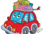 آمادهکردن اتومبیل برای سفر