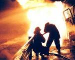 آتش سوزی در سپه سالار دو مصدوم برجا گذاشت