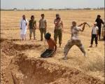 داعش با شمشیر گردن میزند ( تصاویر  18+)