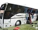 تعداد تلفات و مجروحان واژگونی اتوبوس در محور دهدز به ۴۳نفر رسید