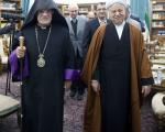 عکس: دیدار اسقف اعظم ارامنه با هاشمی
