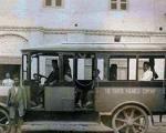 اولین اتوبوس در خطوط بین شهری ایران (عکس)